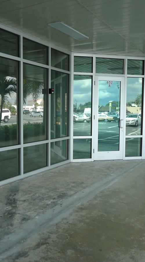 016 Storefront Hurricane Windows - Port St. Lucie, Florida